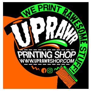 UpRawr printing shop